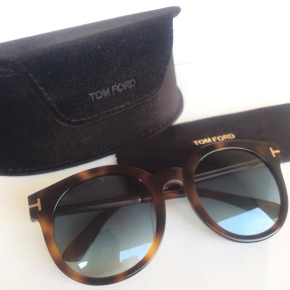 7fbf084080cb Authentic Tom Ford Janina round sunglasses. M 5b26f3917386bc146e3e7d3d.  Other Accessories ...